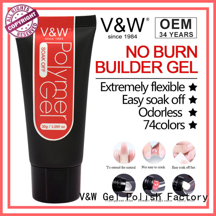 VW burn Gel Polish Manufacturer varnish for shopping