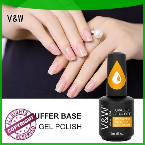 VW quick dry speckled nail polish varnish for office