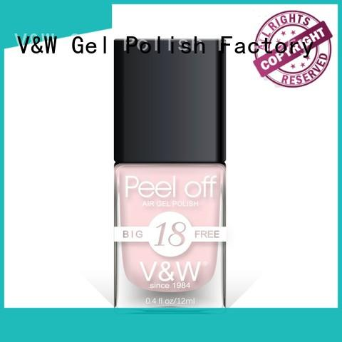 VW big blue green nail polish esay remove for evening party