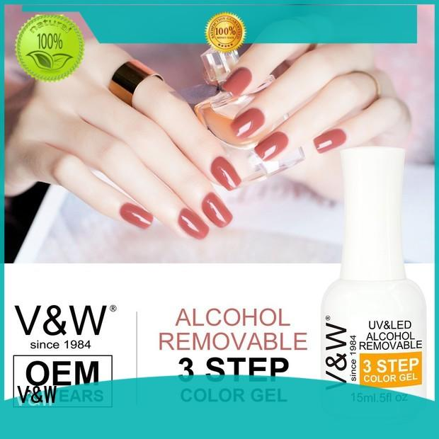 clear changing VW Brand Gel Polish Wholesale