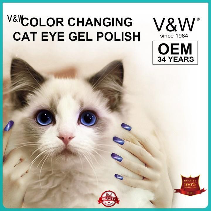 uvled design UV Gel Polish Wholesale texture crackle VW Brand