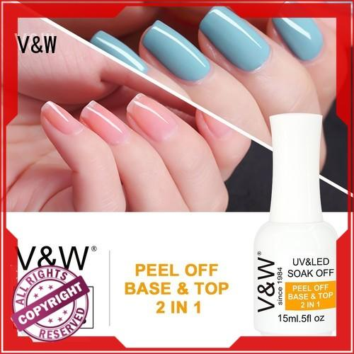 VW quick dry led gel nail polish colors eco friendly for evening party