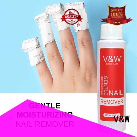 VW color gel fingernail polish esay remove for office