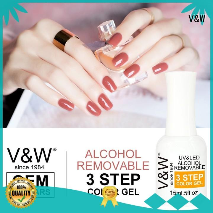 VW Brand diamonds extensions UV Gel Polish Wholesale dark
