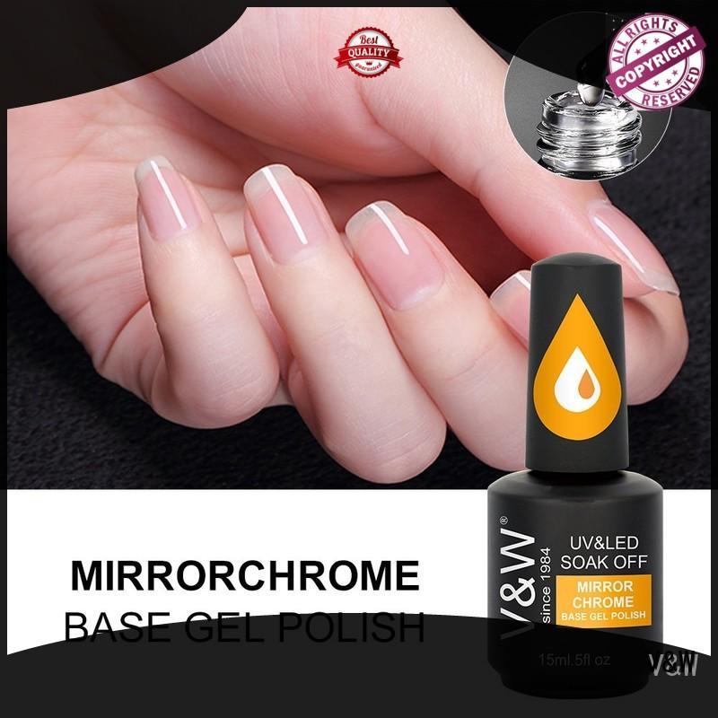 VW chrome uv gel nail salon varnish for work