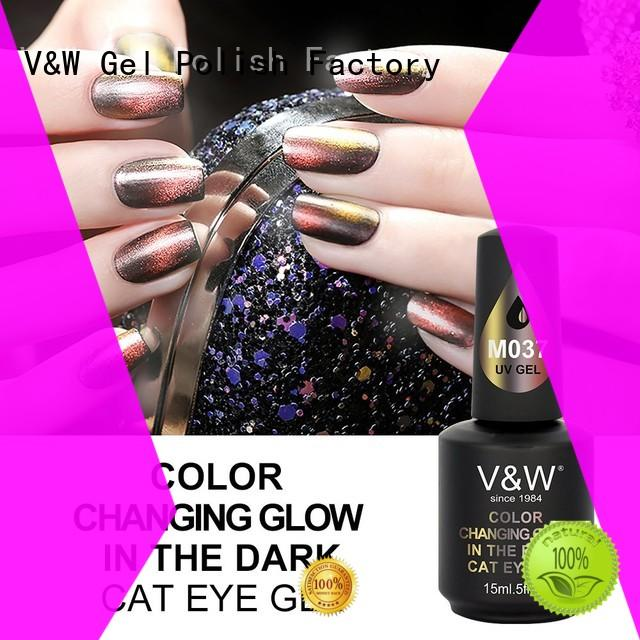 VW quick dry mauve gel nails manufacturer for home