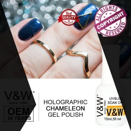 one fabric mermaid Gel Polish Wholesale curable VW Brand