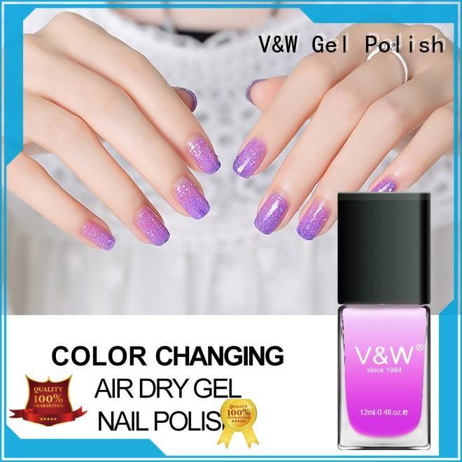 Color Changing Air Dry Gel Nail Polish
