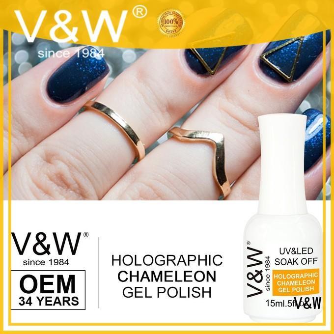 VW leduv led nail polish mood changing for home