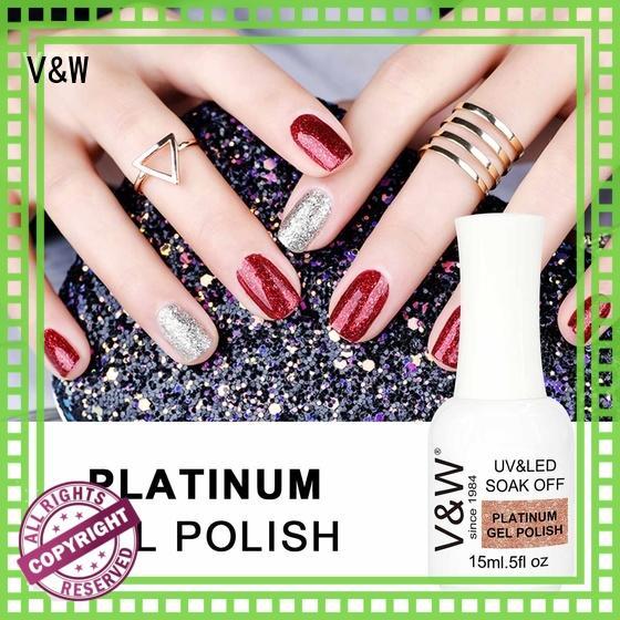 VW slip uv gel set nails manufacturer for wedding