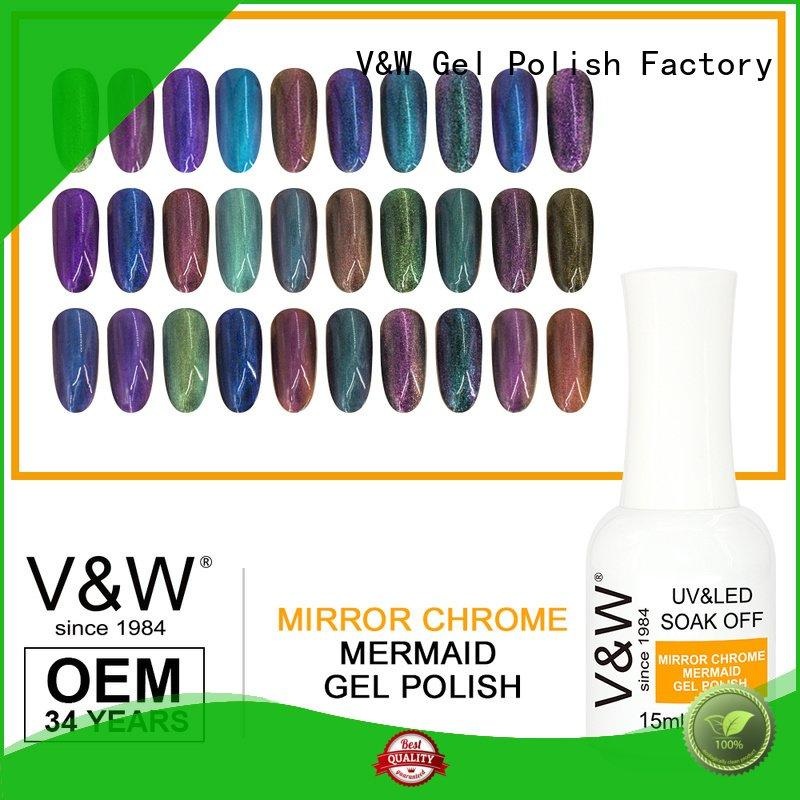 VW Brand grow diamonds mirror UV Gel Polish Wholesale
