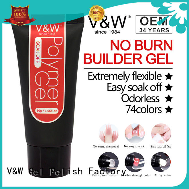 peel off uv builder gel glow eco friendly for office
