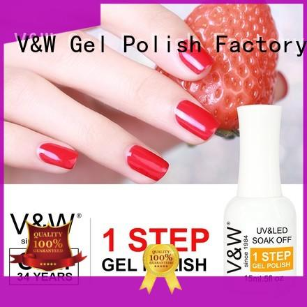 VW Brand bond extremely velvet UV Gel Polish Wholesale burn