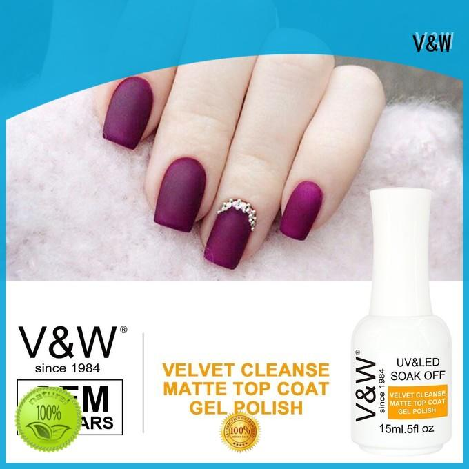 metallic color uv gel nails for evening party