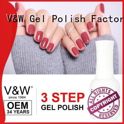 VW pearl wholesale uv nail polish manufacturer for work