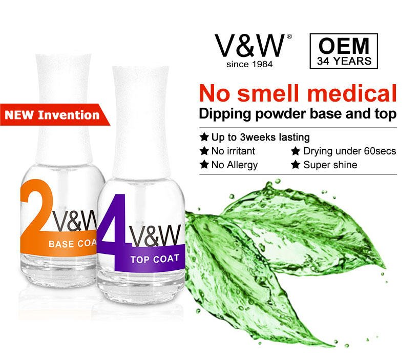 VW-Best Easy Remove Quick Gel Nail Acrylic Dipping Powder System Chrome-2