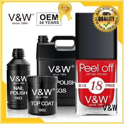 VW Brand color Gel Nail Polish Manufacturers drying supplier