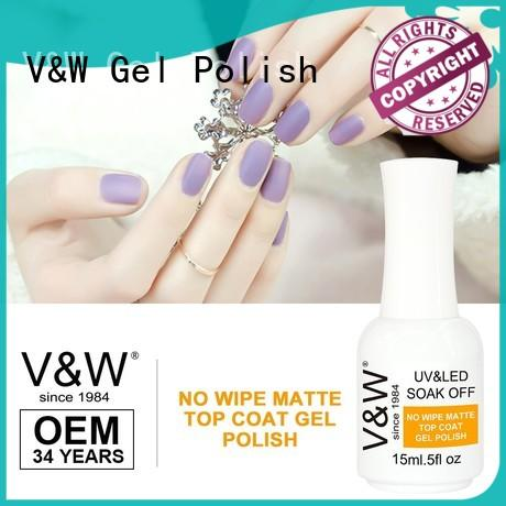 VW peel off gel nail polish to use with uv lamp mood changing for wedding