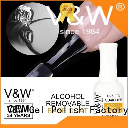 VW odorless gel nail polish for uv lamp for wedding