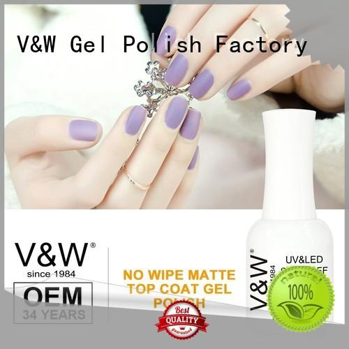 VW metallic uv gel nail supplies varnish party