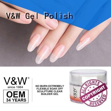 VW shatter led gel nails varnish for work
