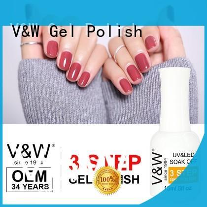 VW colors led polish eco friendly for wedding
