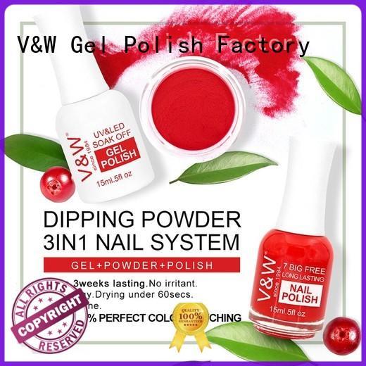 dip powder nail polish dipping easy VW Brand company