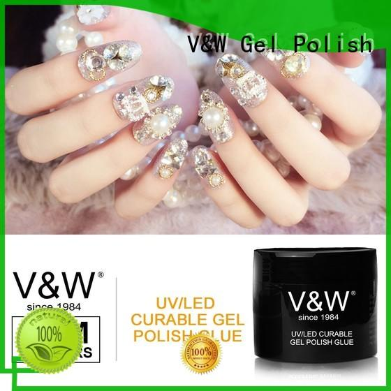 crystal quick removable Gel Polish Wholesale VW Brand company