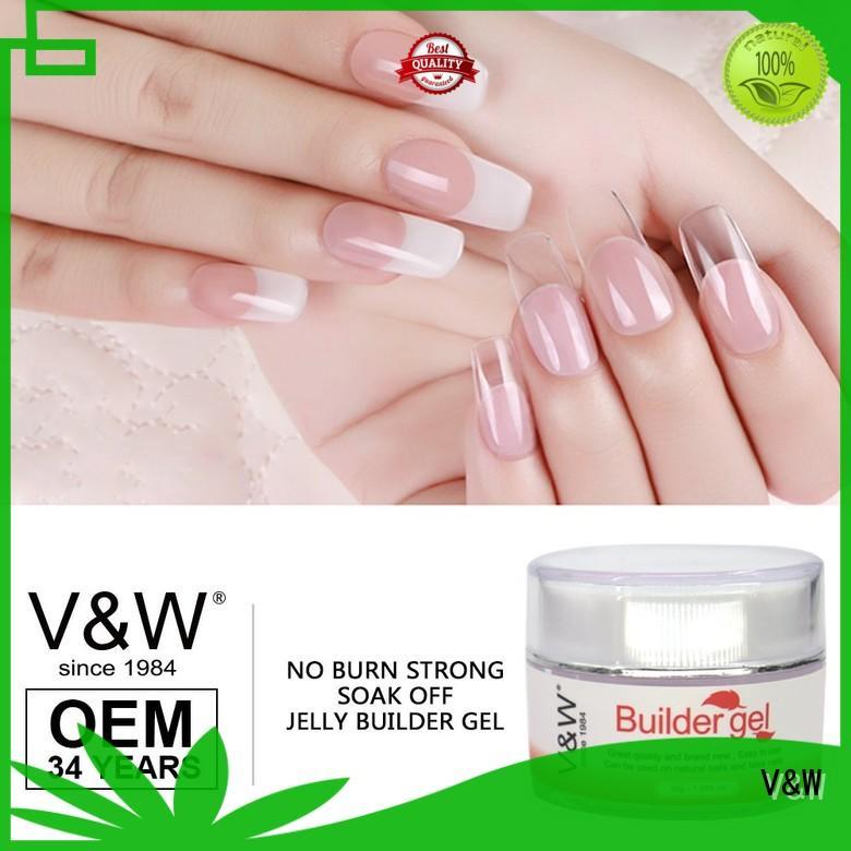 UV Gel Polish Wholesale crystal effect glitter VW Brand Gel Polish Wholesale