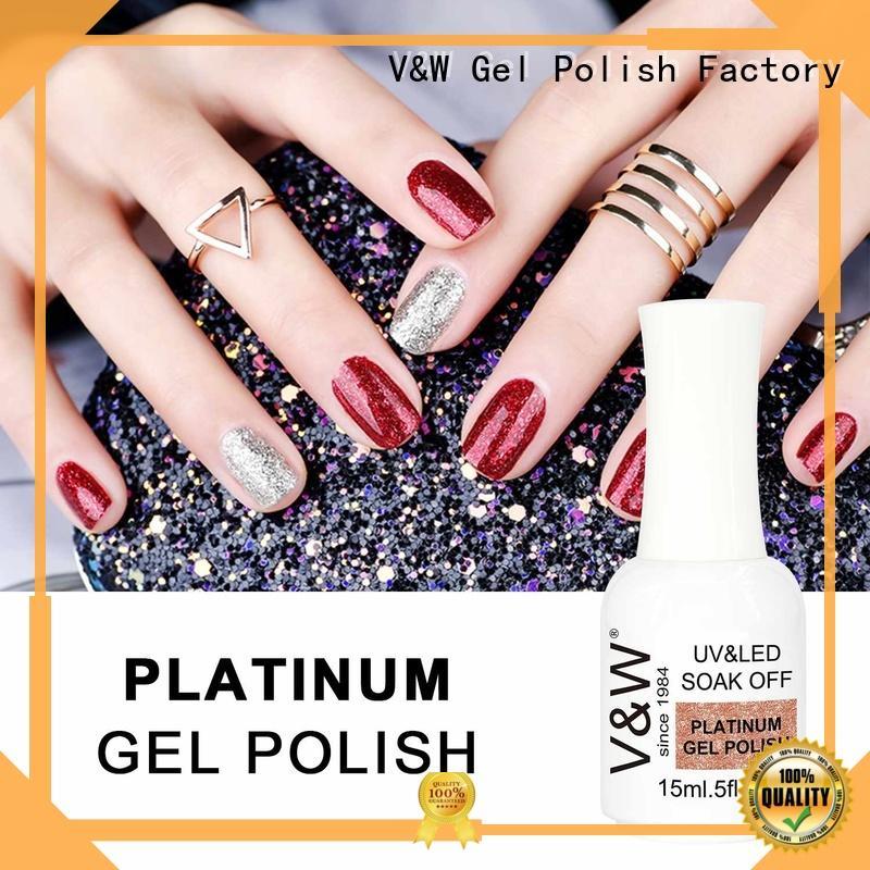 VW peel off uv nail polish for party