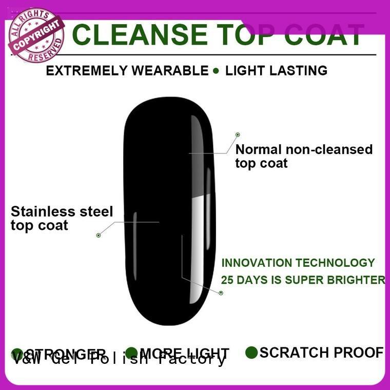 VW metallic uv gel nail polish colors for sale for home