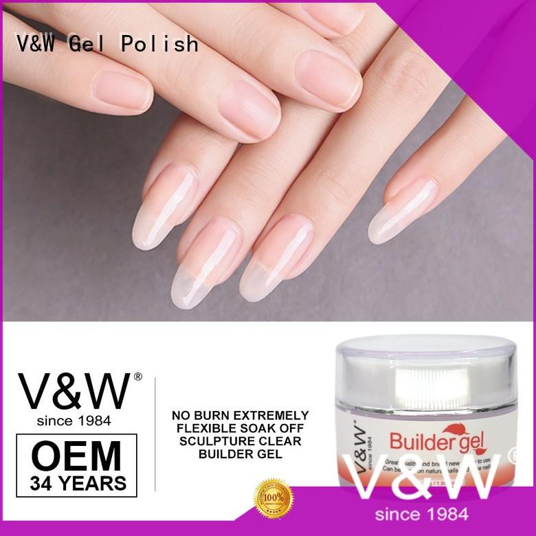 VW peel off uv gel color varnish for shopping