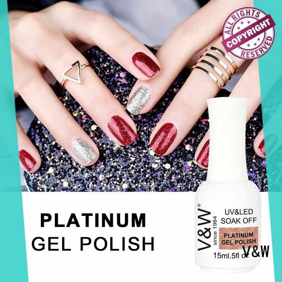 VW glitter nail polish wholesale bulk for office