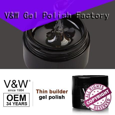 VW pigment uv nail polish manufacturer for work