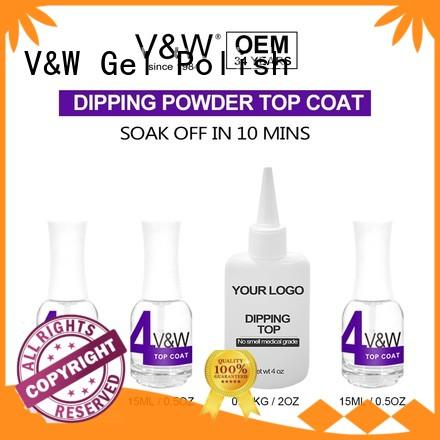 quick acrylic hot sale VW Brand dip powder polish supplier
