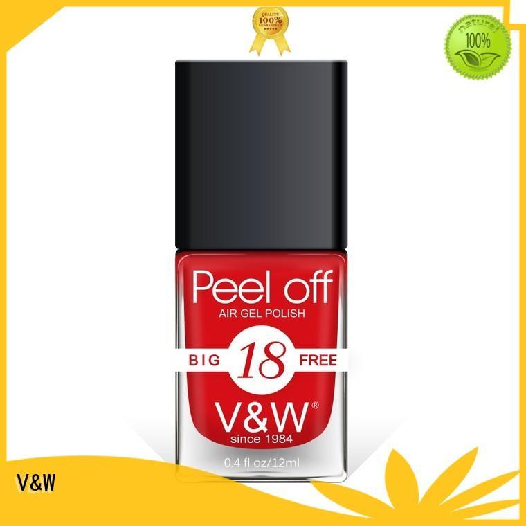 VW 2in1 nail art nail polish wholesale for wedding