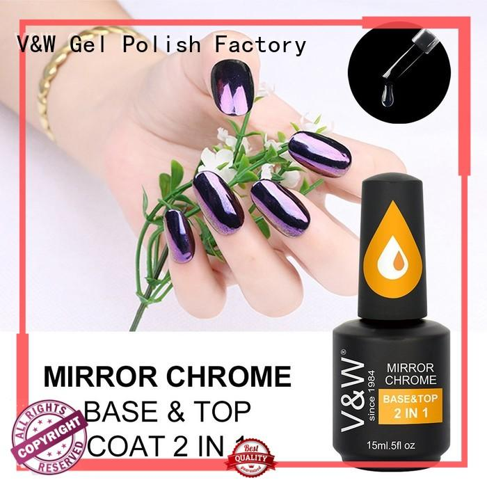 2in1 quick stock glitters VW Brand Gel Polish Wholesale supplier