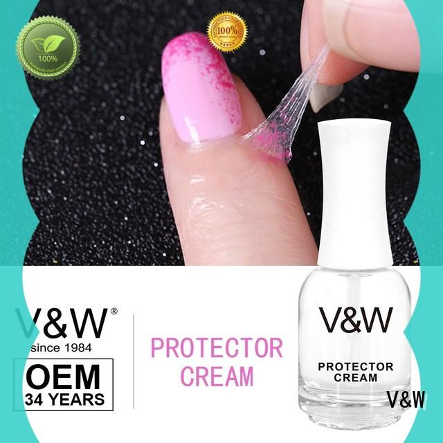 VW glitter uv gel nail colors mood changing for evening party