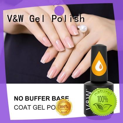 VW metallic uv gel nail set manufacturer for daily life