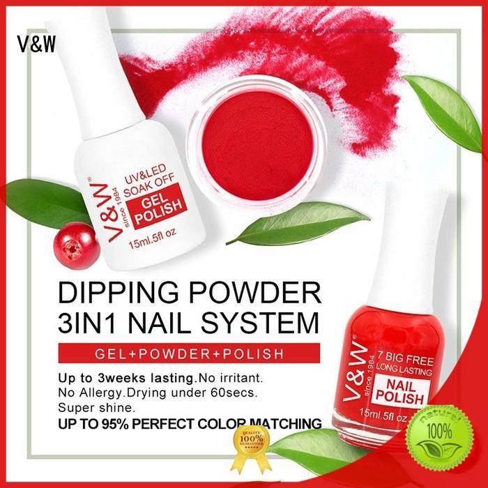 dip powder nail polish dip VW Brand dip powder polish