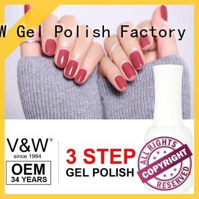 VW velvet nail polish equipment eco friendly for office