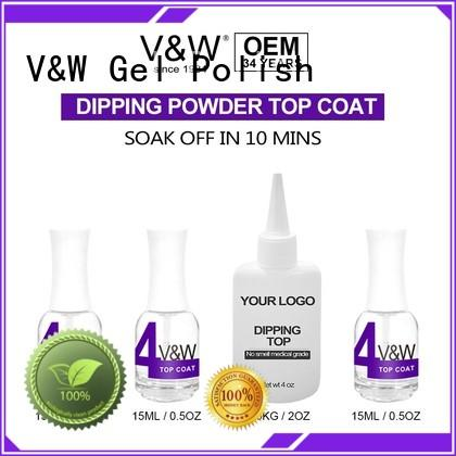 hot sale nail dip powder nail polish dip system VW Brand