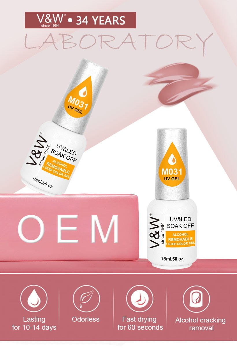 VW-Find Alcohol Removable One Step Gel Uvled Gel Nail Polish More Than 1000-1