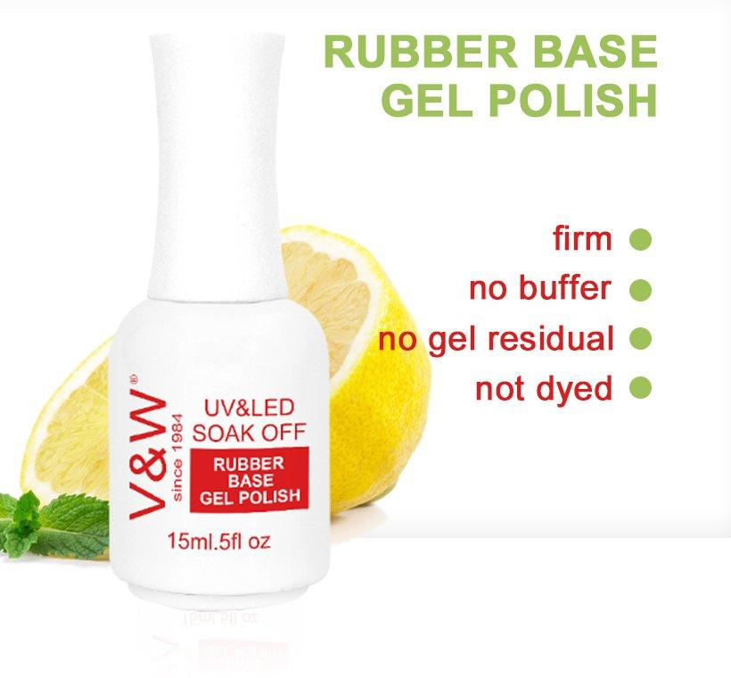 VW-Find Rubber Base Gel Polish Uv Led Base Coat Gel Nail Polish | Manufacture-1