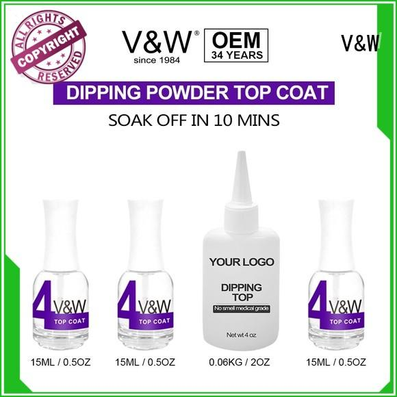 VW harmless dip powder system smoothly for office