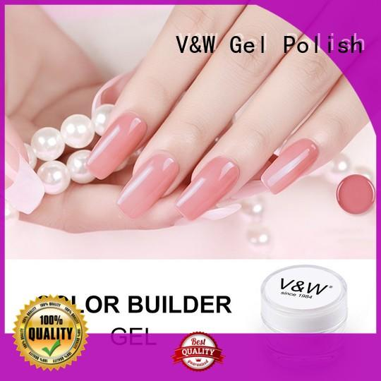 VW odorless led gel manicure eco friendly for home