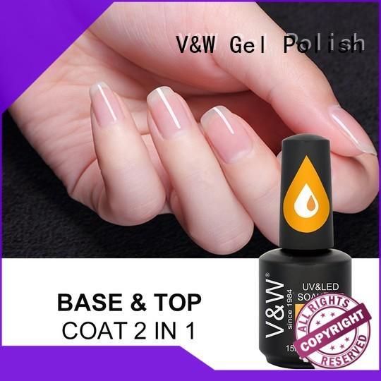 VW crackle uv gel nails varnish for work