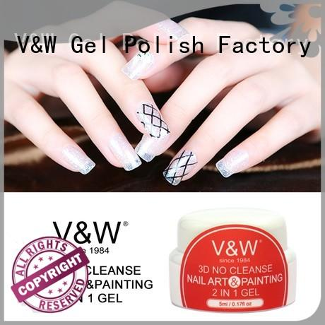 VW peel off gel nail polish without uv eco friendly for shopping
