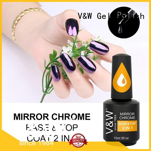 VW polymer uv gel nail colours mood changing for daily life