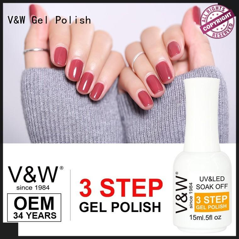 VW gel uv nail polish for office